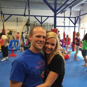 Jeff and Jessica Sills love spending time at their gym